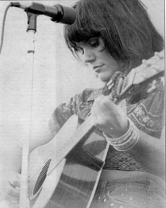 Linda Ronstadt, 1974, at the University of Southern California