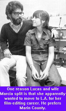 Linda Ronstadt and George Lucas