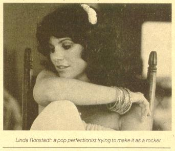 Linda Ronstadt: a pop perfectionist trying to make it as a rocker